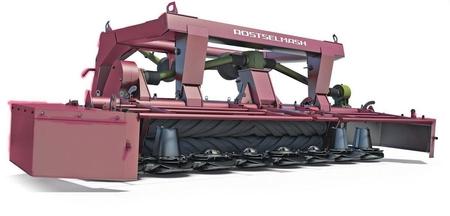 Косилка роторная фронтальная Grass Mower 350