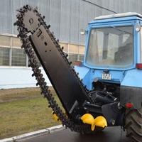 Экскаватор-погрузчик ДЭМ-114